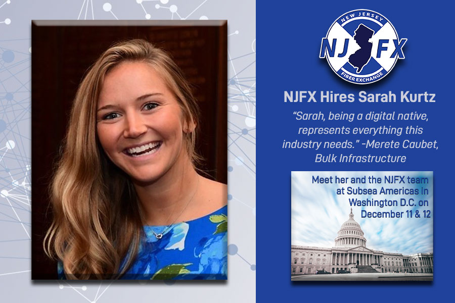 Sarah Kurtz hired at NJFX